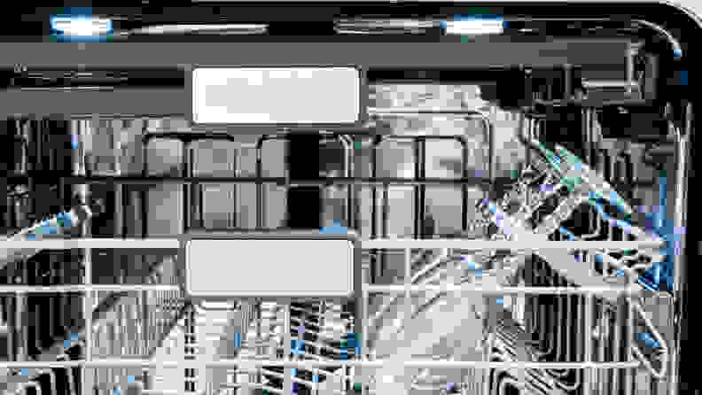 Sharp SDW6757ES Dishwasher Review — Upper rack
