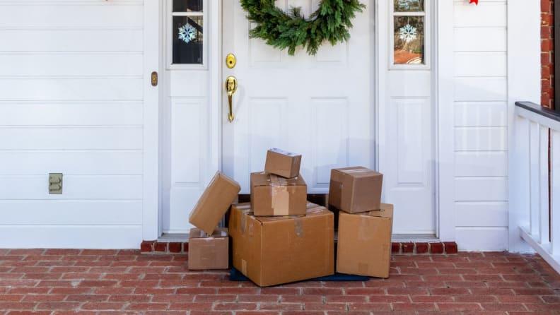 Packages front door