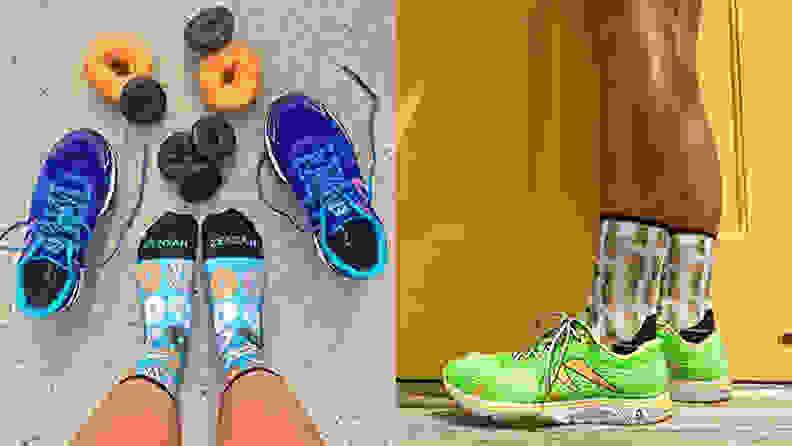 An image of Zensah socks.