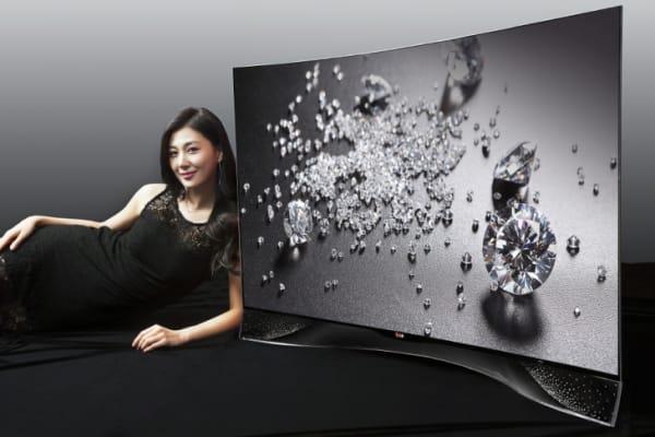 LG's Swarovski OLED TV