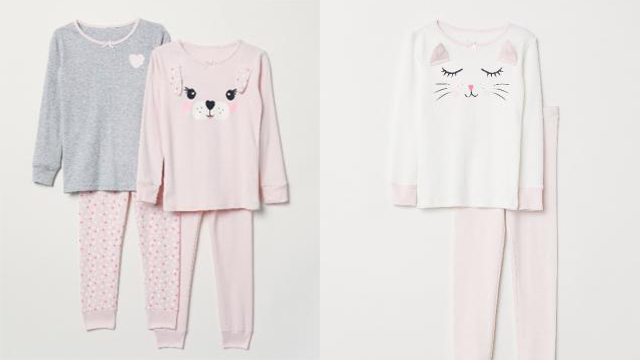 HM kids pajamas