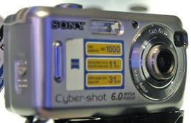 Product Image - Sony Cyber-shot DSC-S600