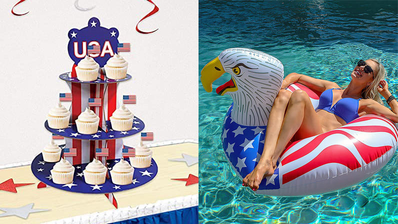 20 patriotic decorations for the Fourth of July