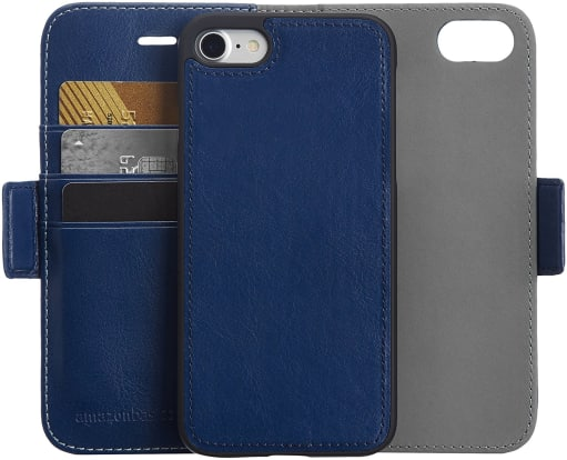 Product Image - AmazonBasics Leather Wallet iPhone 8 / 7 Case