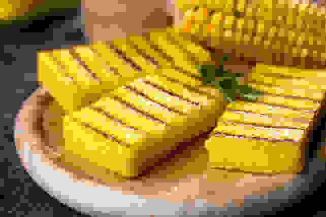 Grilled polenta