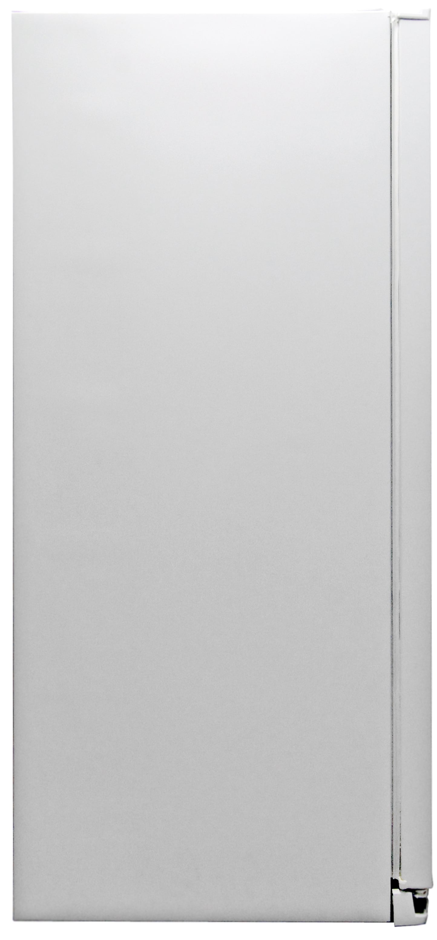 A white finish on the sides of the Kenmore Elite 51162 matches perfectly with the front.