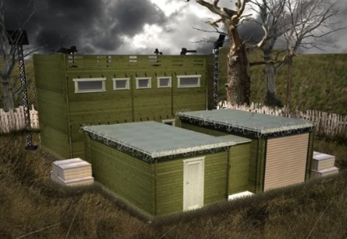 Zombie-Proof Cabin Is Perfect for Doomsday Preppers