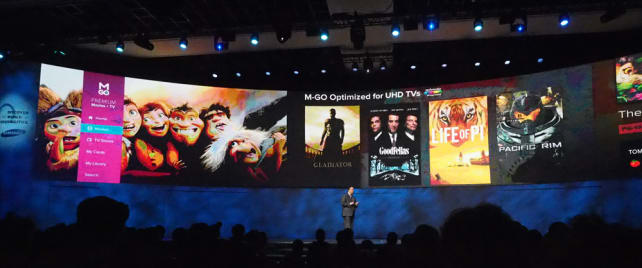UHD content partners