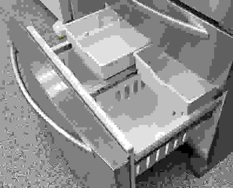 KitchenAid KFXS25RYMS Freezer