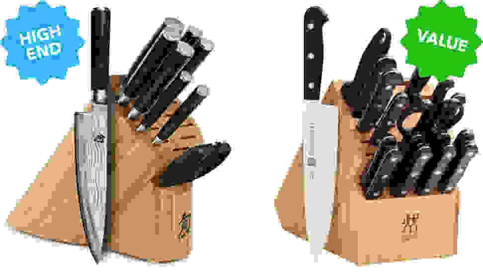 Zwilling J.A. Henckels Twin Gourmet Classic 18-Piece Knife Block Set