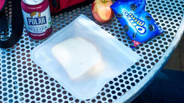 (re)zip Lay Flat Reusable Lunch Bag