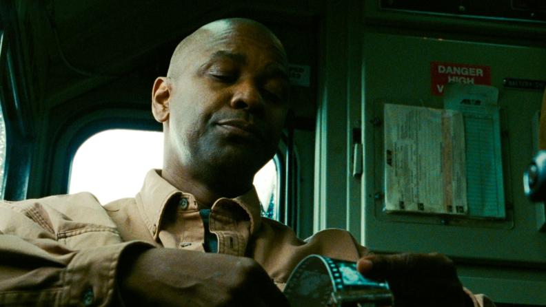 Denzel Washington plays the everyman-turned-hero in Tony Scott's 'Unstoppable.'