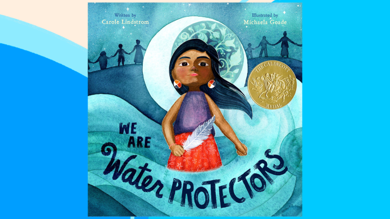 The cover of We Are Water Protectors.
