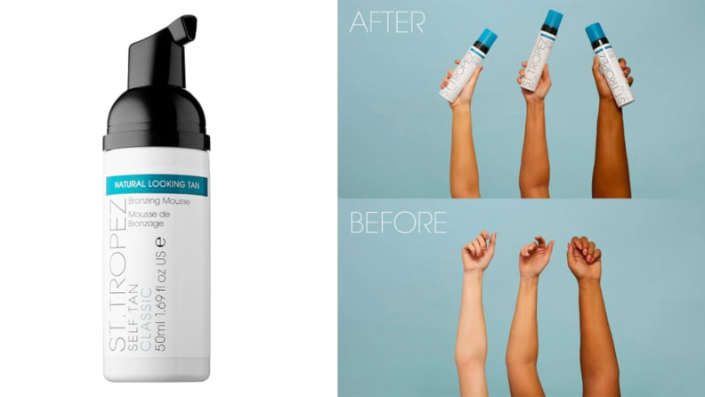 St. Tropez Tanning Essentials Self Tan Classic Bronzing Mousse