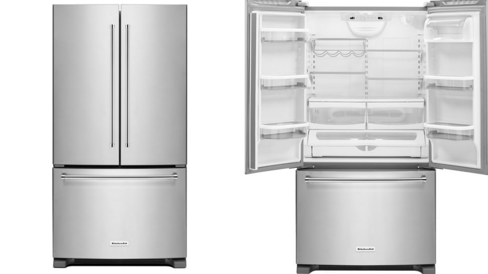 Kitchenaid Krfc300ess Counter Depth Refrigerator Review Reviewed