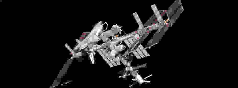 An image of the International Space Station.