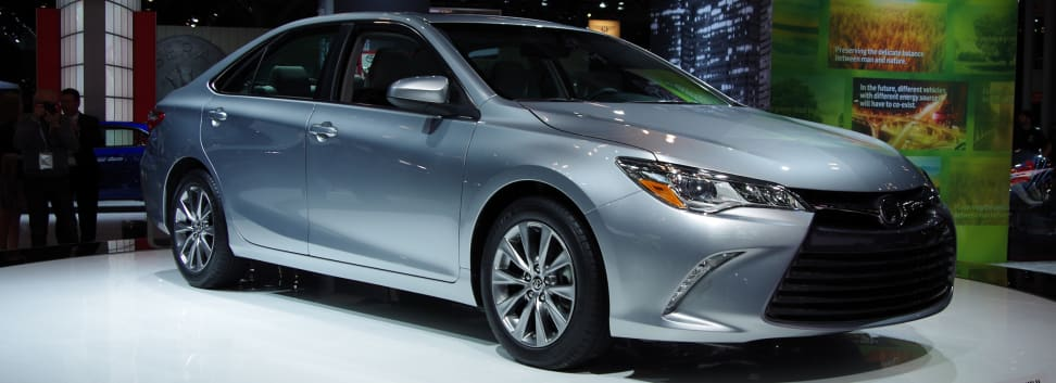The redesigned 2015 Toyota Camry debuted at the New York International Auto Show.