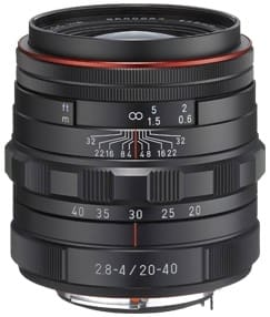 Product Image - Pentax HD Pentax DA 20–40mm f/2.8–4 ED Limited DC WR