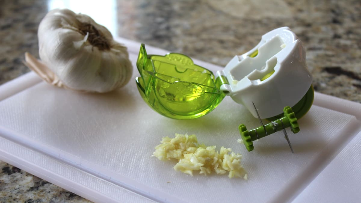 Never chop garlic again with this amazing $10 gadget