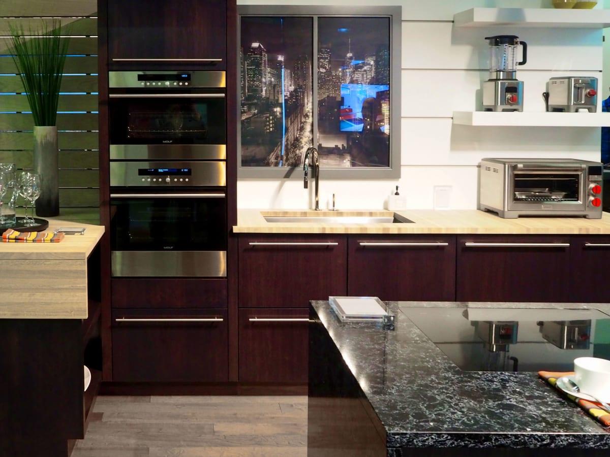 Subzero wolf kitchen appliances rustic wilshire refrigeration