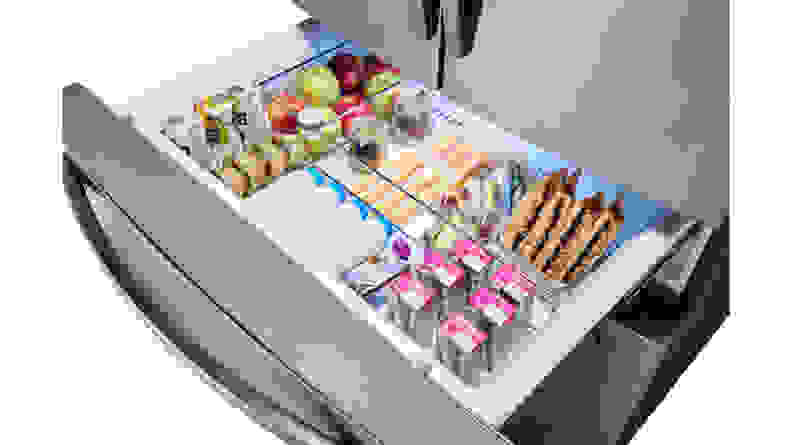 Samsung-RF28R7201SR-FlexZone-cold-drawer