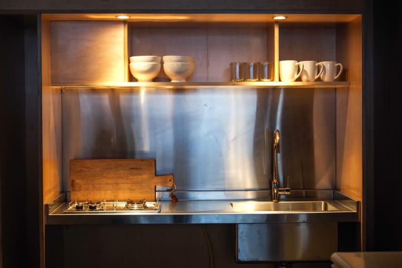 Container House Kitchenette