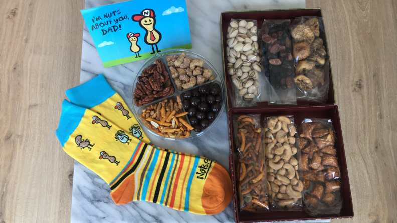 Nuts.com Father's Day gift