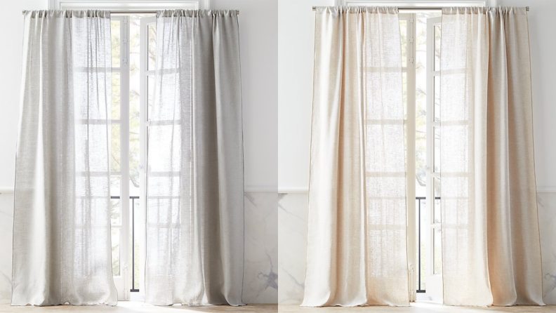 CB2 curtains