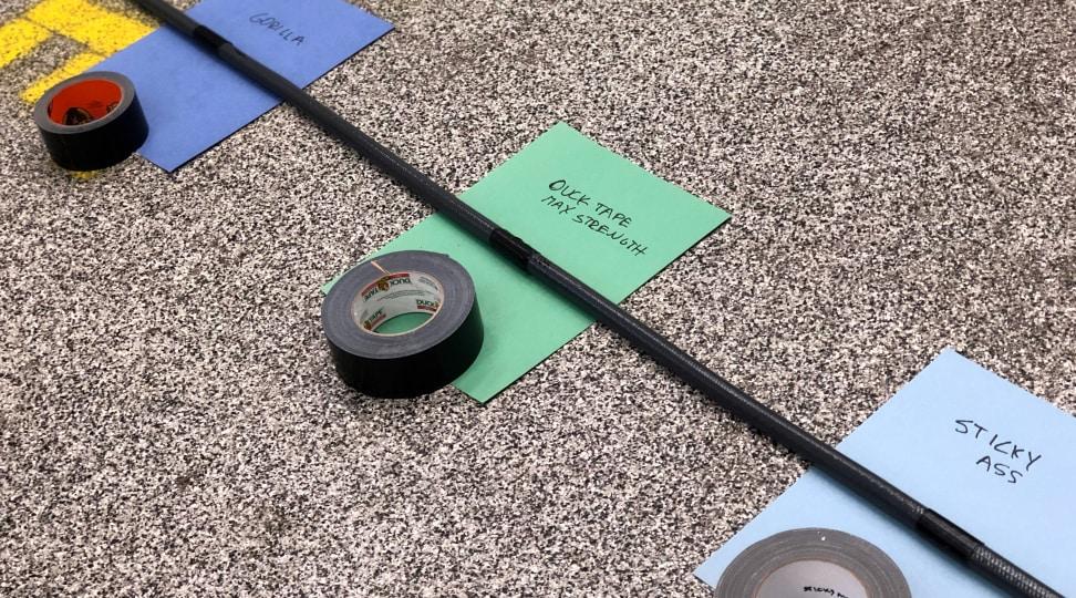 Duct Tape Waterproof Testing