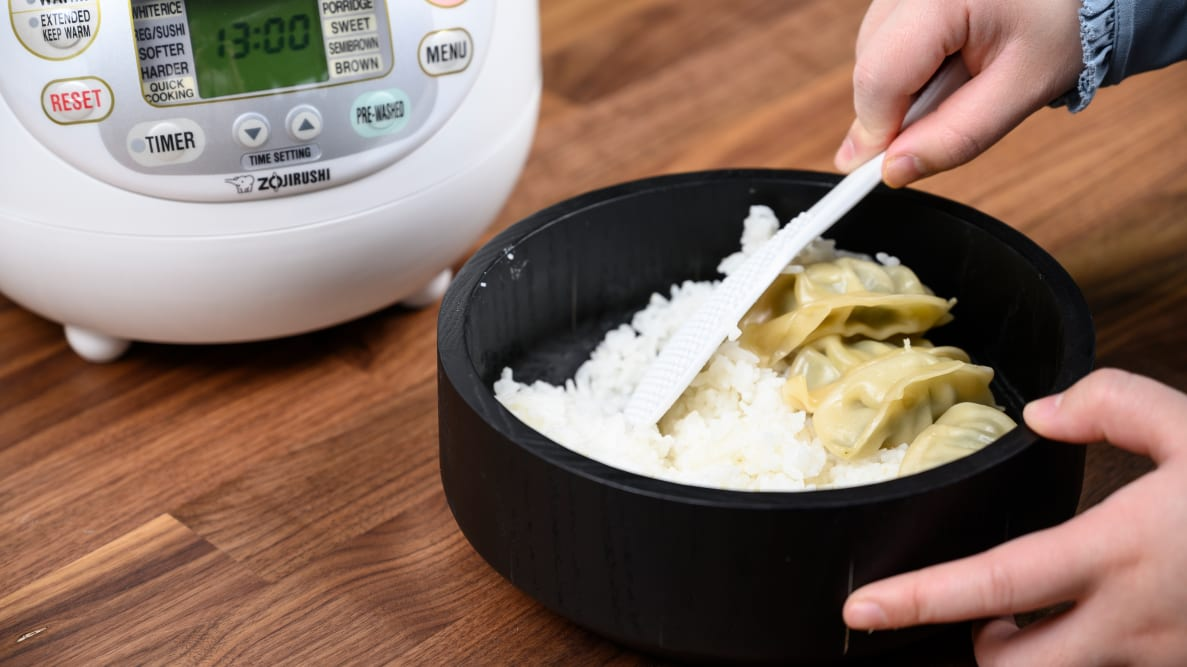 We tested the best rice cookers from brands like Zojirushi, Panasonic, Aroma, and Hamilton Beach.