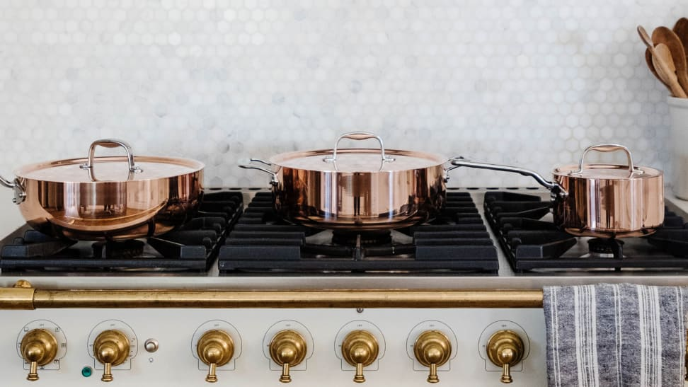 Made In launches copper cookware set