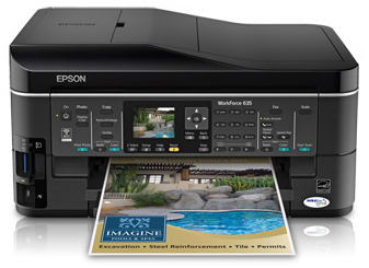 Product Image - Epson WorkForce 635