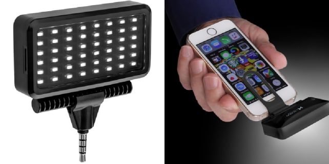 The Xuma mobile LED light