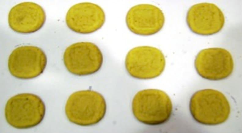 Light cookie tops