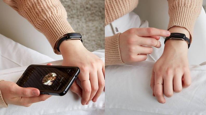 Touch bracelet