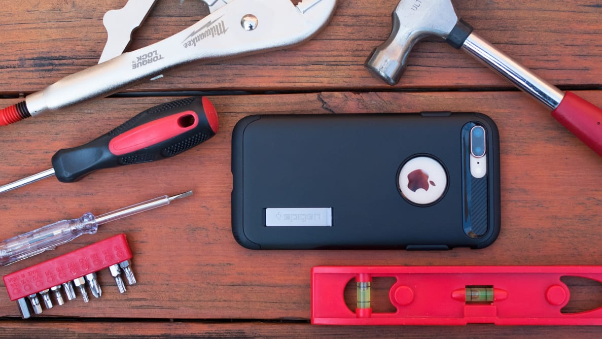 The Spigen Slim Armor iPhone case