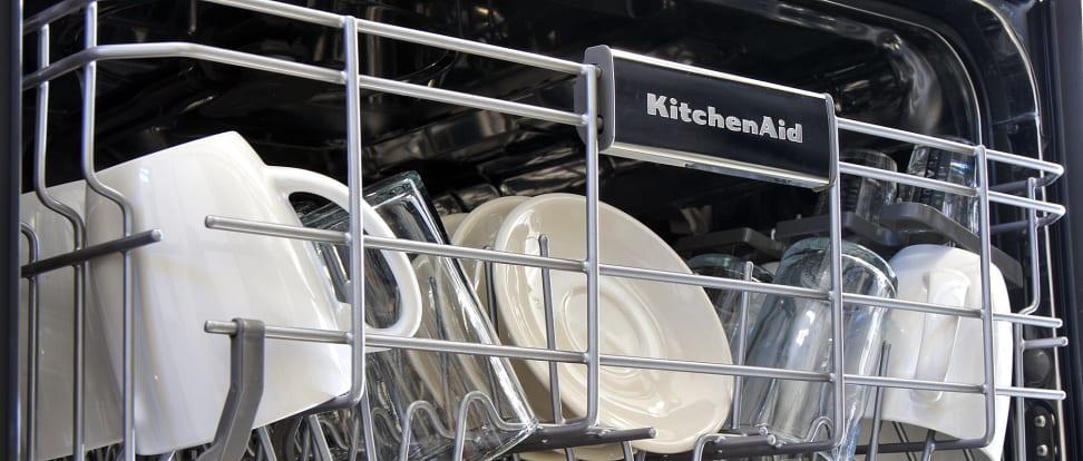 KitchenAid KDFE104DSS Dishwasher Review - Reviewed Dishwashers