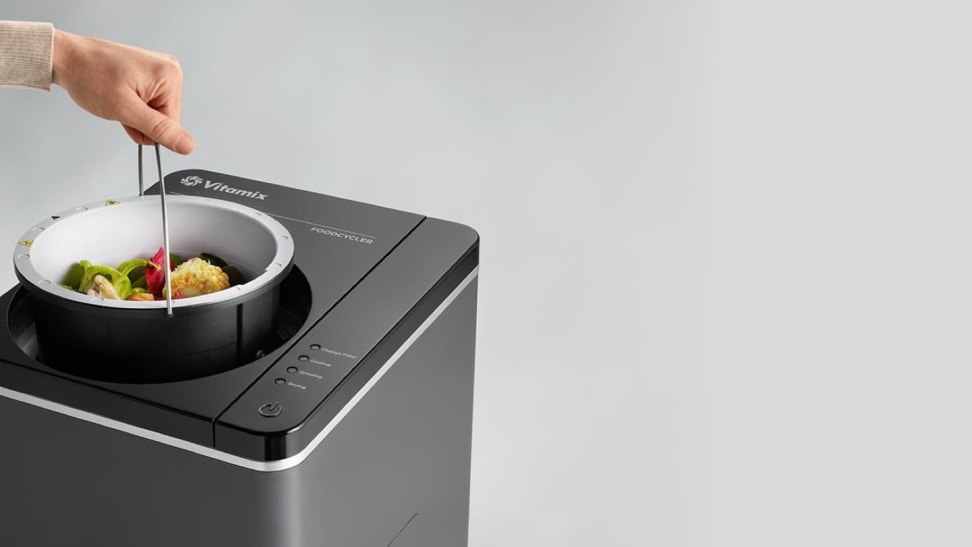 The Vitamix FoodCycler makes composting easy.