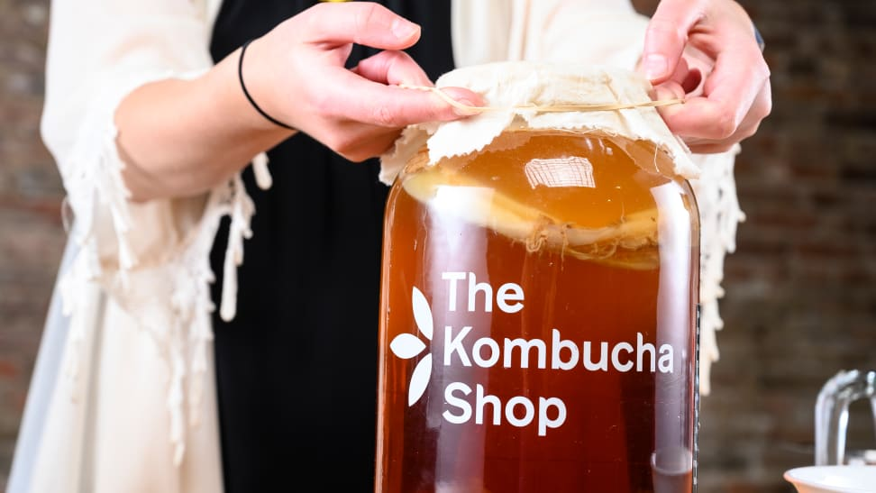 I've been brewing my own kombucha for a year—here's how