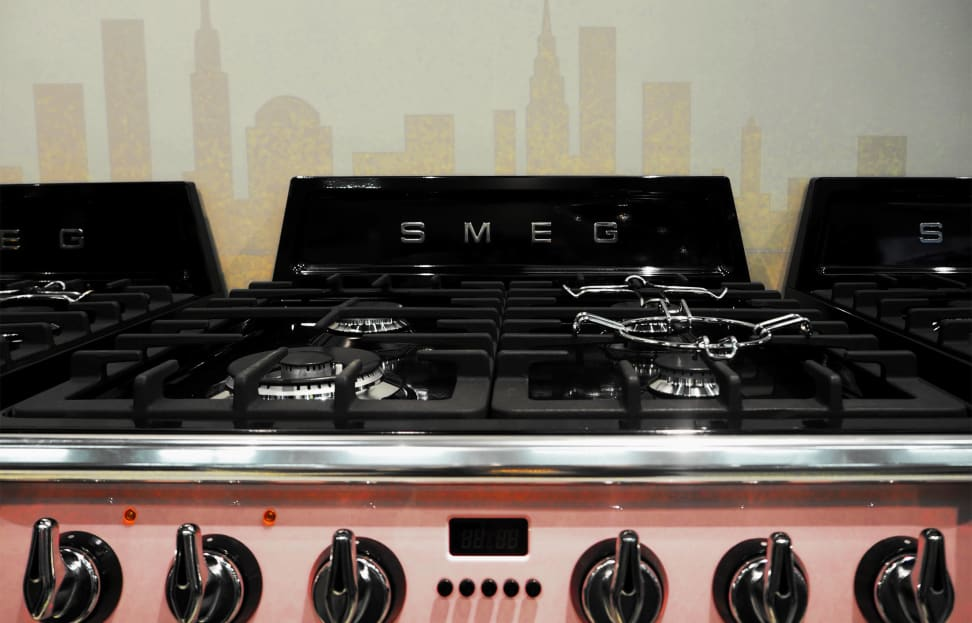 Smeg 24-inch range burners