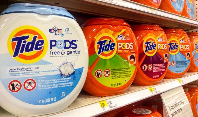 Detergent package risks