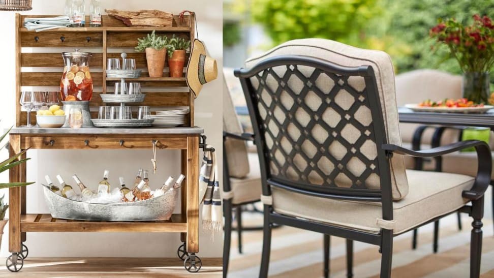 Make your patio comfortable and welcoming, just in time for summer.