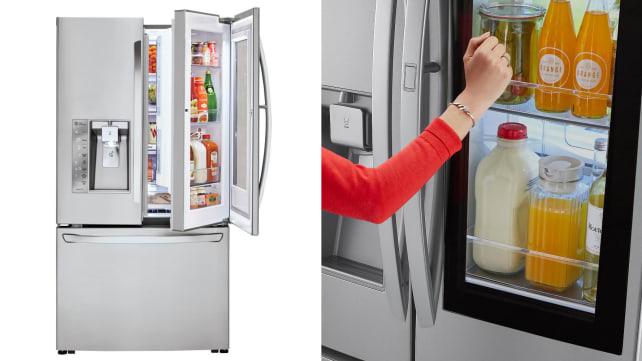 LG LFXS307 instaview refrigerator