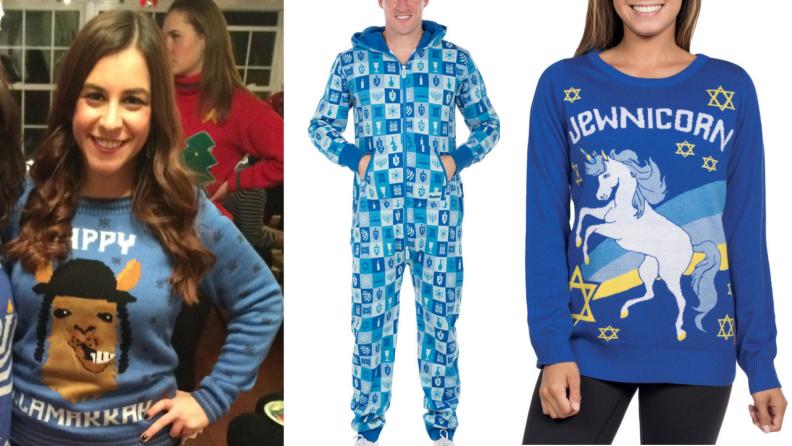 Ugly Hanukkah Sweaters
