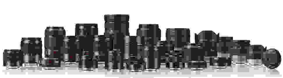 Panasonic Lens Family Portrait