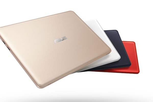 The Asus EeeBook X205 ships in numerous stylish colors.