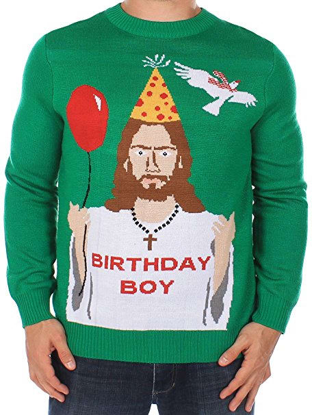 Birthday Jesus Sweater