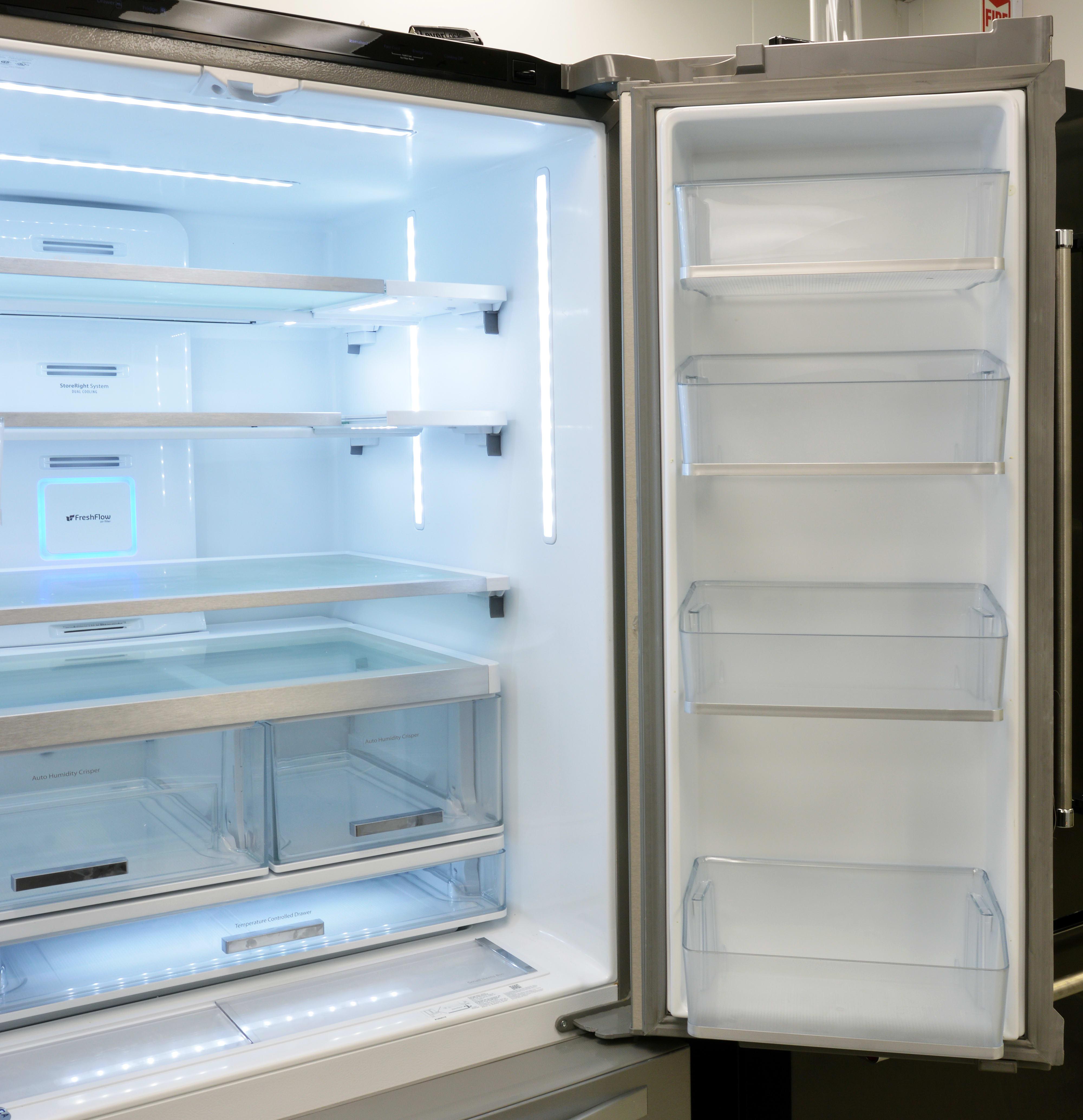 Whirlpool WRF995FIFZ Refrigerator Review - Reviewed.com Refrigerators