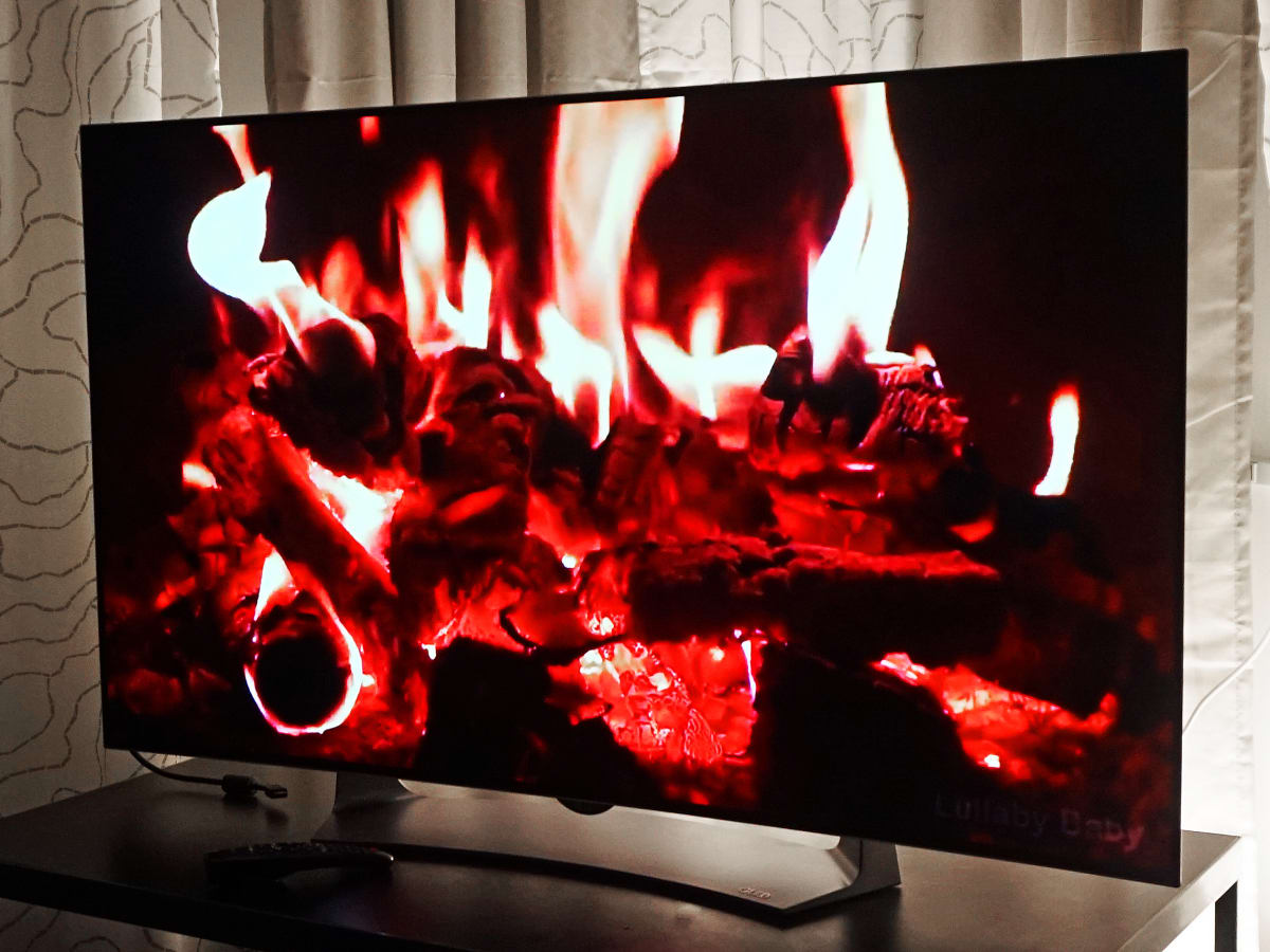 What is OLED burn-in, image retention? - Reviewed Televisions