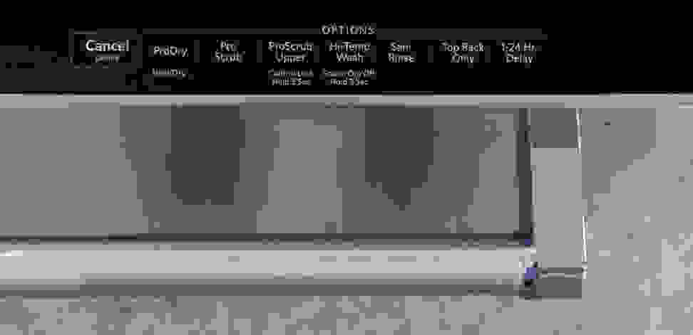KitchenAid KDTM404ESS—Option Selection